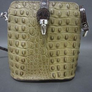 SMALL ITALIAN LEATHER HANDBAG BY M&R MODA IN PELLE